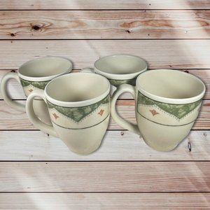 Pier 1 Mugs Sabel Ironstone Made In Brazil Handles